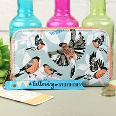 'Collective Noun' Bullfinch Wallet
