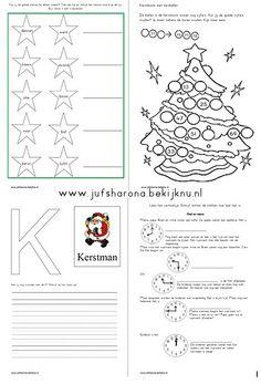 Kerstwerkboekje groep 4