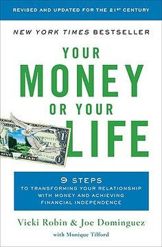 A life changing read... a way to re-order your financial life so you are living your deepest values...