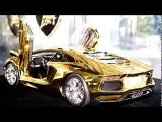 First Gold Plated Lamborghini Aventador LP700-4 Better only ...
