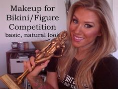 This makeup matches the Jan Tana competition colour Competition Makeup, Physique Competition, Bikini Competition Prep, Fitness Competition, Figure Competition, Bikini Fitness, Bikini Workout, Men's Fitness, Muscle Fitness