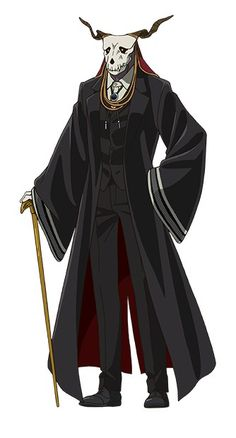 Elias Ainsworth | The Ancient Magus Bride Elias Ainsworth, Chise Hatori, Best Romance Anime, The Ancient Magus Bride, Bride Costume, Gothic Halloween, Fantasy, Bungo Stray Dogs, Geek Culture
