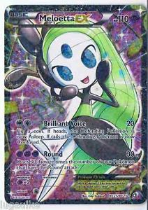Pokemon Card Legendary Treasures Rare Holo FULL ART Meloetta RC25/RC25