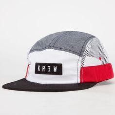KR3W Meshed Up Mens 5 Panel Hat 232908204   5 Panels