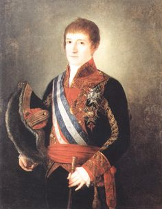 13º Capitán General de la Armada Española. Félix Ignacio de Tejada y Suárez de Lara 1809 Conquistador, Man O, Reyes, Portuguese, Soldiers, Spanish, Empire, War, Painting