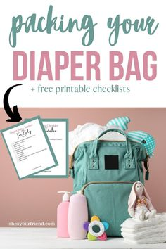 Everything you need to pack in your diaper bag to be prepared. #diaperbagchecklist #diaperbag #whatsinyourdiaperbag #newbaby #babytips #babydiaperbag
