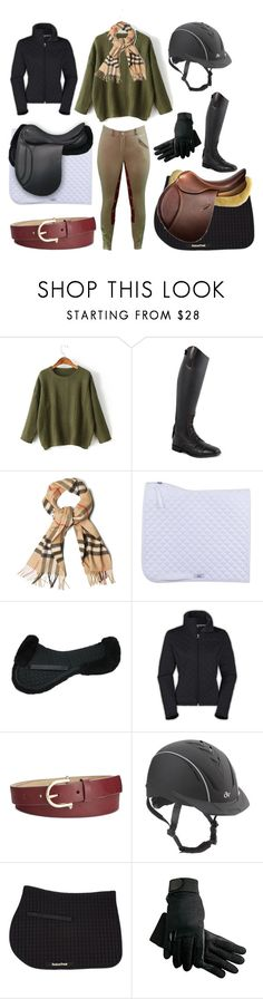 """""""ROOTD: 12/21/16"""" by taeyo ❤ liked on Polyvore featuring WithChic, Burberry, The North Face and Style & Co."""
