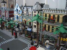 City Layout, Lego Modular, Lego Architecture, Lego House, Lego Building, Lego City, Legos, Buildings, California