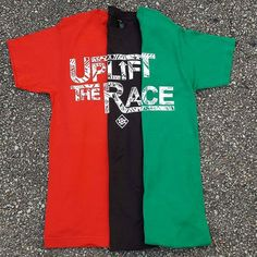 "RESTOCKED IN BLACK UPLIFT THE RACE TEES AVAILABLE IN RED BLACK AND GREEN 30% OFF ALL AVAILABLE ITEMS AT http://ift.tt/1cwNr9k USE CODE ""BHM"" AT CHECKOUT. #uplifttherace #buyblack #upcommunity #blackhistorymonth"