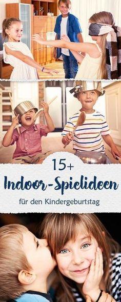 Indoor-Spielideen: Spiele für den Kindergeburtstag. © iStock