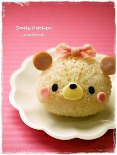Teddy bear onigiri