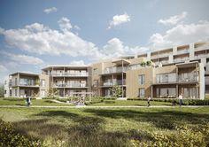 Norway residential buildings on Behance