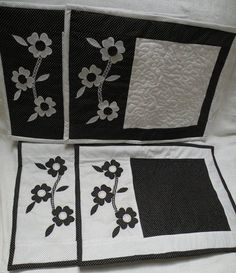 Jogo americano com 4 peças em tecido 100% algodão
