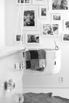 Absolutely awesome hanging crib!! I want!! I shall HAVE for my fourth baby :) yay