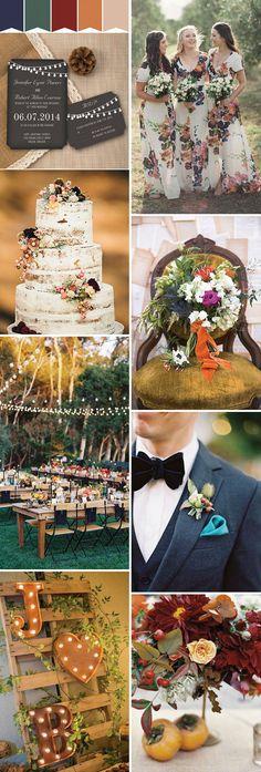 Pretty boho wedding inspiration for spring