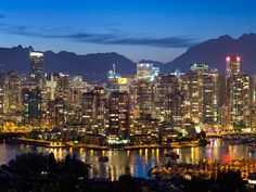 Vancouver. I'd like to live here someday.