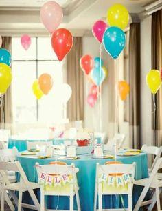 24 ideias de como fazer decoração de festas com balões