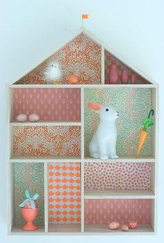 Cute Furniture, Bois Diy, Box Houses, Wooden Dollhouse, Little Girl Rooms, Art Wall Kids, Fashion Room, Kid Spaces, Kids Decor