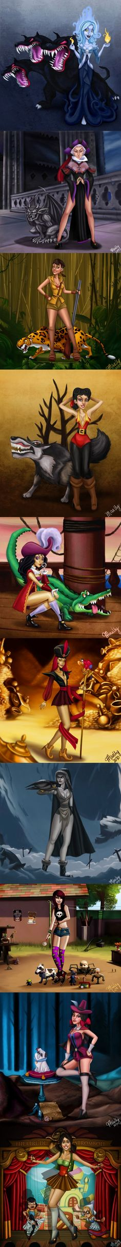 #disney villains of the female version