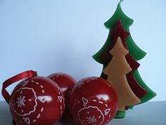 Visit http://strategicpromotionforsuccess.blogspot.com . Marketing and Small Business Tips For Etsy Sellers.  Christmas pine tree shaped scented paraffin candle / Tri colour pine tree you choose the scent candle / Christmas candle / Home decoration