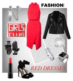 """""""Girl Club"""" by sammanthap on Polyvore featuring Oris, Black Halo, Dolce&Gabbana, Gucci, Steve Madden, MAC Cosmetics, Journee Collection, BERRICLE, Thomas Sabo and Rebecca Minkoff"""