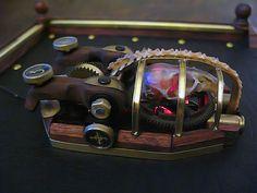 Souris steampunk