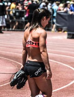 crossfitters:  Camille. Crossfit Games 2012. Photo by Josh Mirone