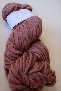 LOVE this color of chunky yarn!