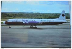 CARIBBEAN  AIR CARGO   IL 18    CU C1515 - 1946-....: Ere Moderne