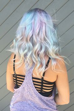 Opal hair #hairbykoripenrod @koripenrod_hair Very colorful. But I like it and shortness