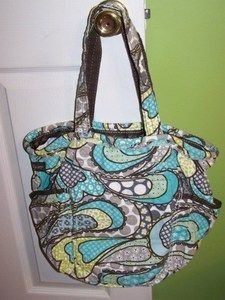 My favorite thirty one bag, the retro metro, in my favorite pattern ever!