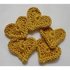 How To Crochet An Easy Heart