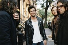 See Kings of Leon pictures, photo shoots, and listen online to the latest music. 2000s Music, Kings Of Leon, Charming Man, Soundtrack To My Life, Band Photos, Gal Pal, Latest Music, Music Is Life, Music Bands