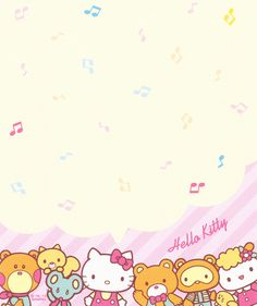 Kawaii memo paper - Hello Kitty - Sanrio
