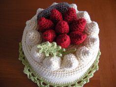 Strawberry Cake Hat