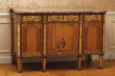 18th-century furniture by Abraham and David Roentgen on view at Metropolitan Museum