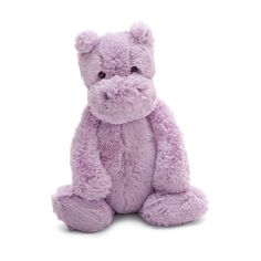 Super-soft high quality plush is sure to please! This adorable hippo measures tall and just a cute as can be. Bashful Hippo by Jellycat. Home & Gifts - Gifts - Gifts by Occasion - Baby & Kids Pennsylvania Animal Reiki, Cute Stuffed Animals, Jellycat, Plush Animals, Jungle Animals, Toy Store, Plushies, Snuggles, Baby Kids
