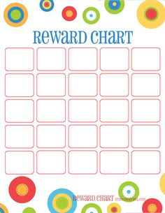 Training chart & reward chart All four of these portrait-orientation charts are separate — just click on any one of them to get a larger printable version. Need some reward stickers? Chec…