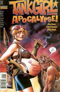 Tank Girl: Apocalypse #1 • Noviembre 1995 Portada: Brian Bolland