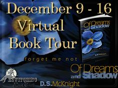 Enter to #win an Amazon Gift Card or a Starbucks Gift Card in the Of Dreams and Shadow Forget Me Not Book One #booktour #giveaway ~ A Mama's Corner of the World