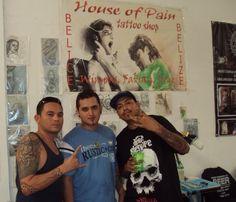 Belizean Tattoo artist at Cancun Tattoo Expo