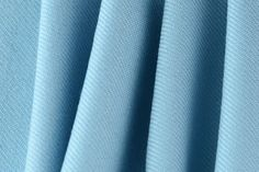 Britex Fabrics - Midweight Baby Blue Selvedged Virgin Wool (Made in Italy) - New!