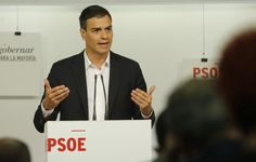 Elcandidato del PSOE a la Moncloa, Pedro Sánchez, en una foto de archivo.
