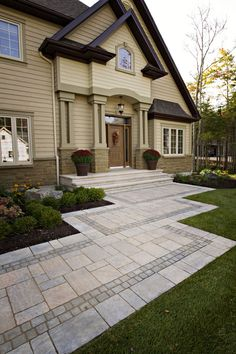 Front Walkway - Ayles Natural Landscaping