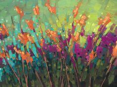 Jill Vansickle Garden Blaze 30x40