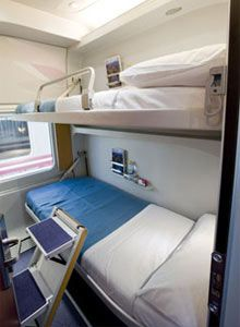 Our overnight accommodations from Granada to Barcelona! Design Transport, Sleep Box, Arts And Crafts Interiors, Capsule Hotel, Choo Choo Train, Craft Desk, Train Travel, Hostel, Interior And Exterior