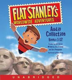 Saddle up with Flat Stanley Ever since Stanley was flattened by a bulletin board, every trip is an adventure! The whole Lambchop family is off to see Mount Rushmore. But when Flat Stanley and his brot Flat Stanley, Book Series, Book 1, This Book, Books For Boys, Childrens Books, Kid Books, Magic Treehouse, Reading Levels