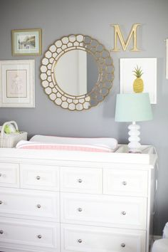 the nursery is done. the diapers are purchased. and the clothes are washed. the only thing that's left is for this babe to make her grand debut. mackenzie's room is a lot smaller than lex's. but it us