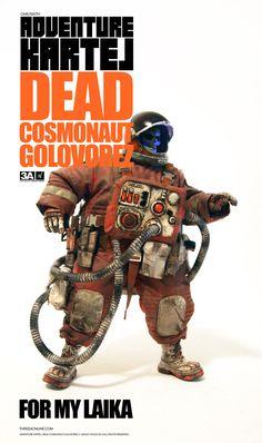 Adventure Kartel figurine 1/6 Dead Cosmonaut Golovorez ThreeA Toys