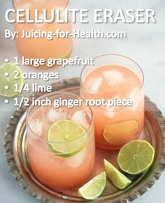 Hey, I'll try anything :-) Cellulite Eraser — Juicing For Health...omg...I'm sooo excited! LOL